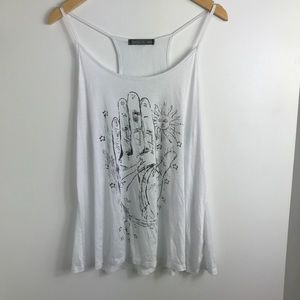 Tops - HAPPENING IN THE PRESENT GRAPHIC TANK TOP SIZE XL